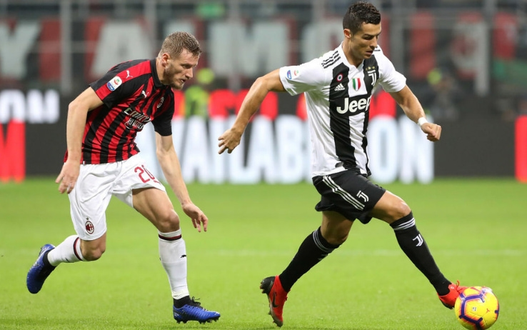 Juventus e Milan, quote scommesse serie A