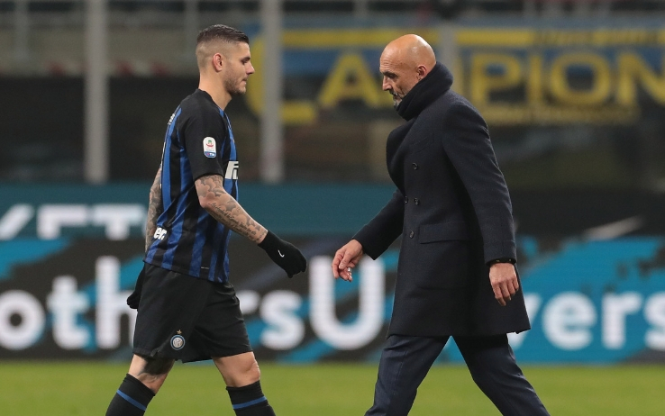 Spalletti e Icardi - Inter