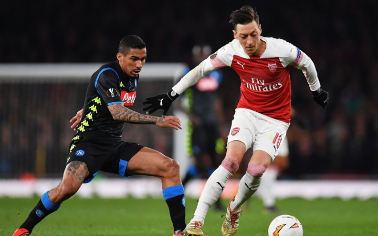 Napoli-Arsenal, ritorno dei quarti di Europa League