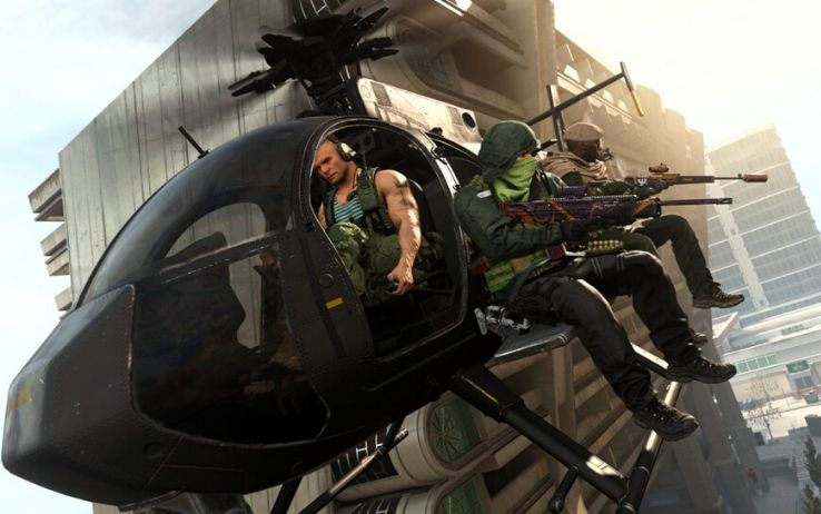 Elicottero Call of Duty Warzone
