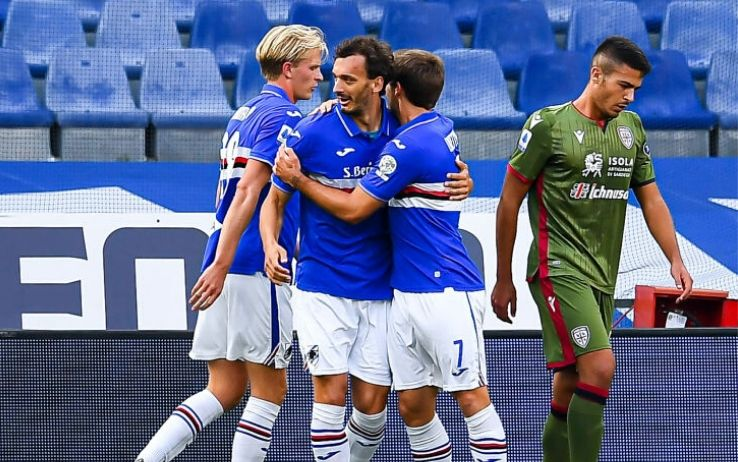 Cagliari Sampdoria highlights