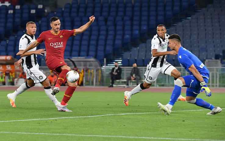 Roma Udinese highlights