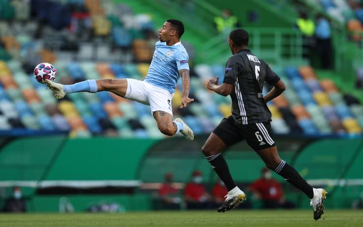 Manchester City Lione highlights
